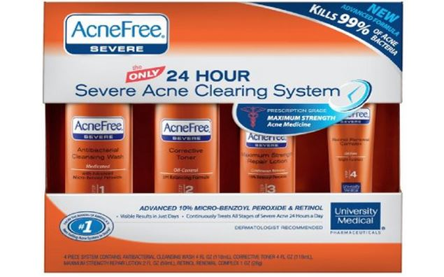 AcneFree Severe Acne Treatment System Reviews